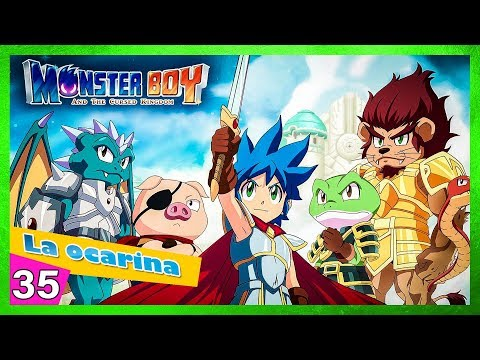 🐷🐍🐸🦁🐲 Monster boy and the cursed kingdom Las tres reliquias La ocarina thumbnail