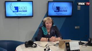 """Алина Дуделе в программе """"Прямая речь"""" #MIXTV"""
