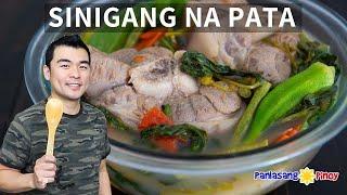 Sinigang na Pata with Gabi