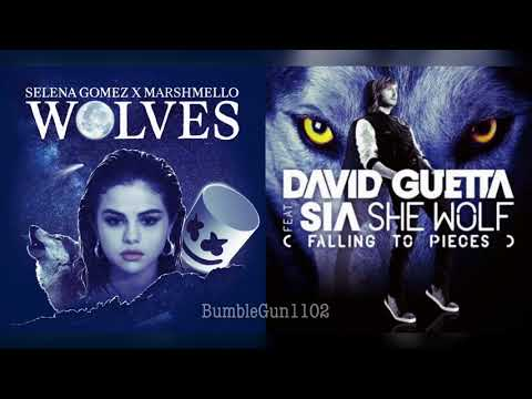 Selena Gomez ft. Marshmello, David Guetta ft. Sia - She Wolves/Wolves x She Wolf (mashup)
