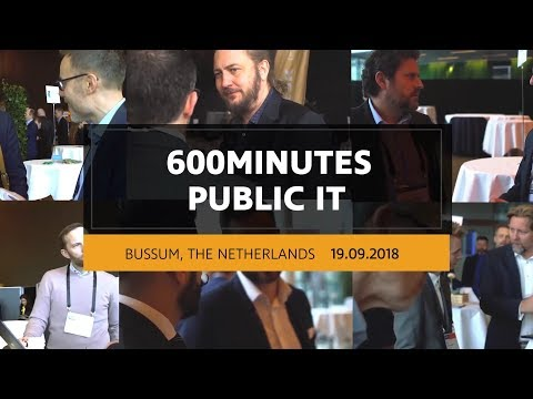600Minutes Public IT 2018 in Bussum, The Netherlands