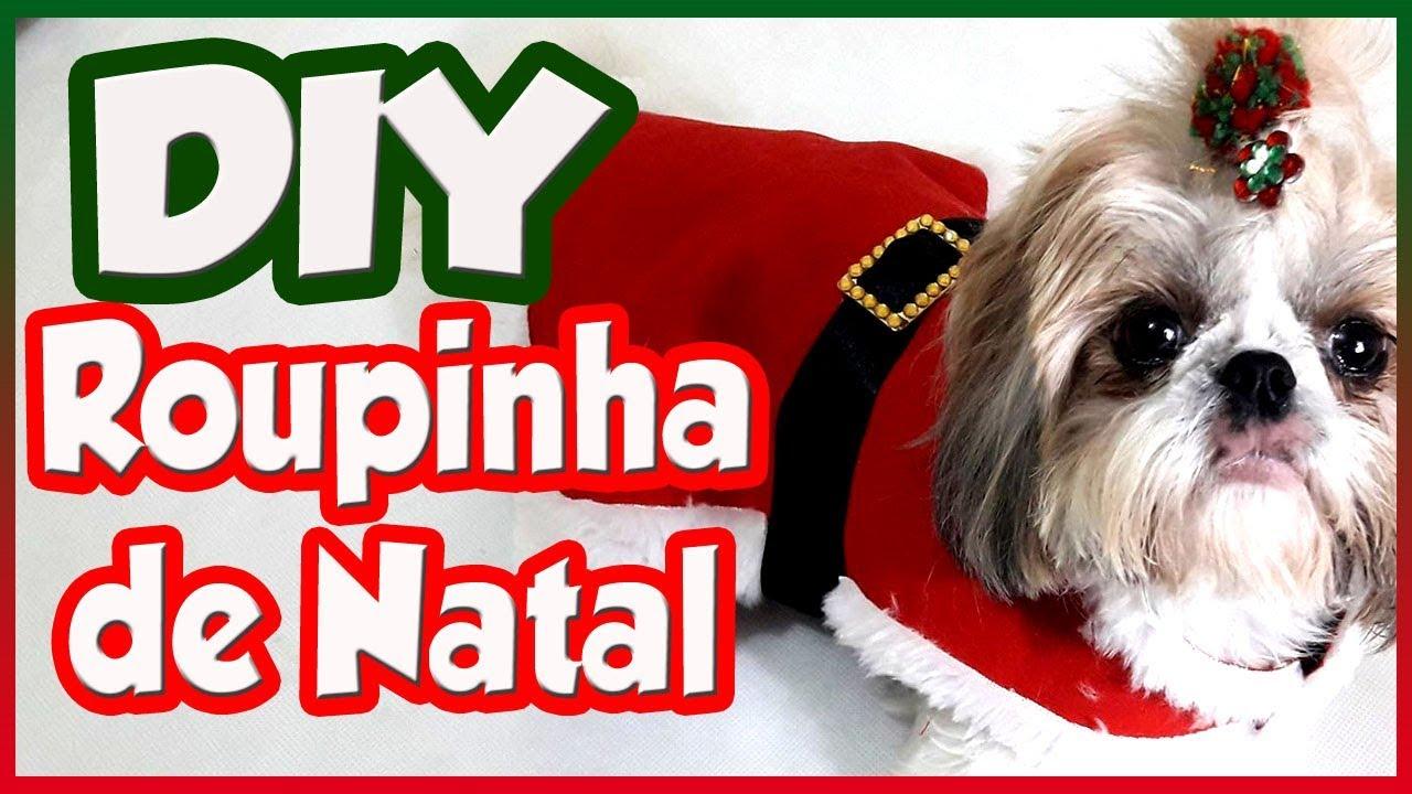 Diy Roupinha De Natal Super Simples De Fazer
