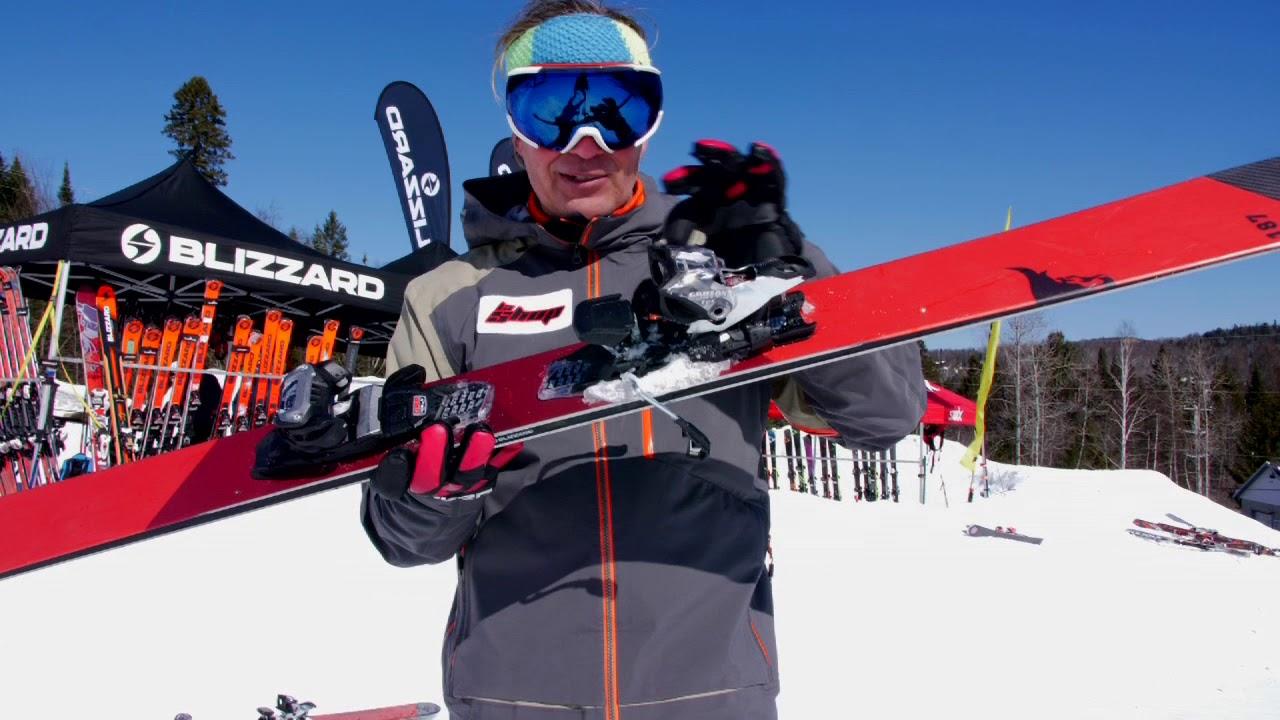 Ski Test PDS 2018-19 Blizzard Bonafide