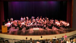 Schilling Farms Middle School Band Music in the Parks 2014