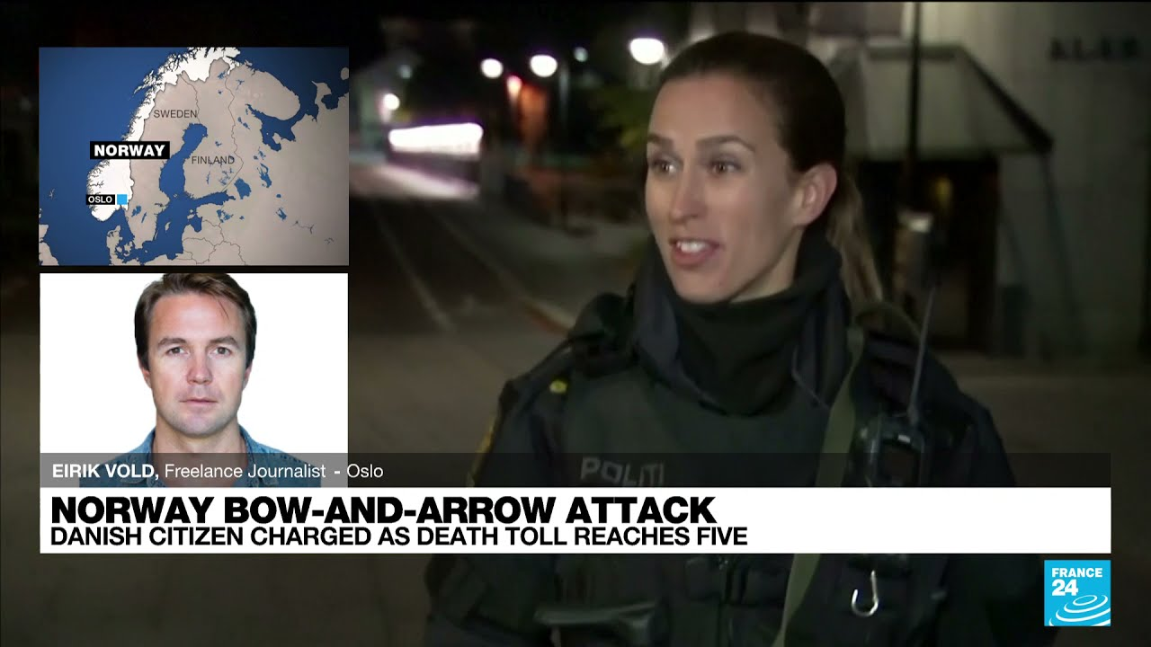 Download Norway says bow-and-arrow attack appears to be an 'act of terror' • FRANCE 24 English