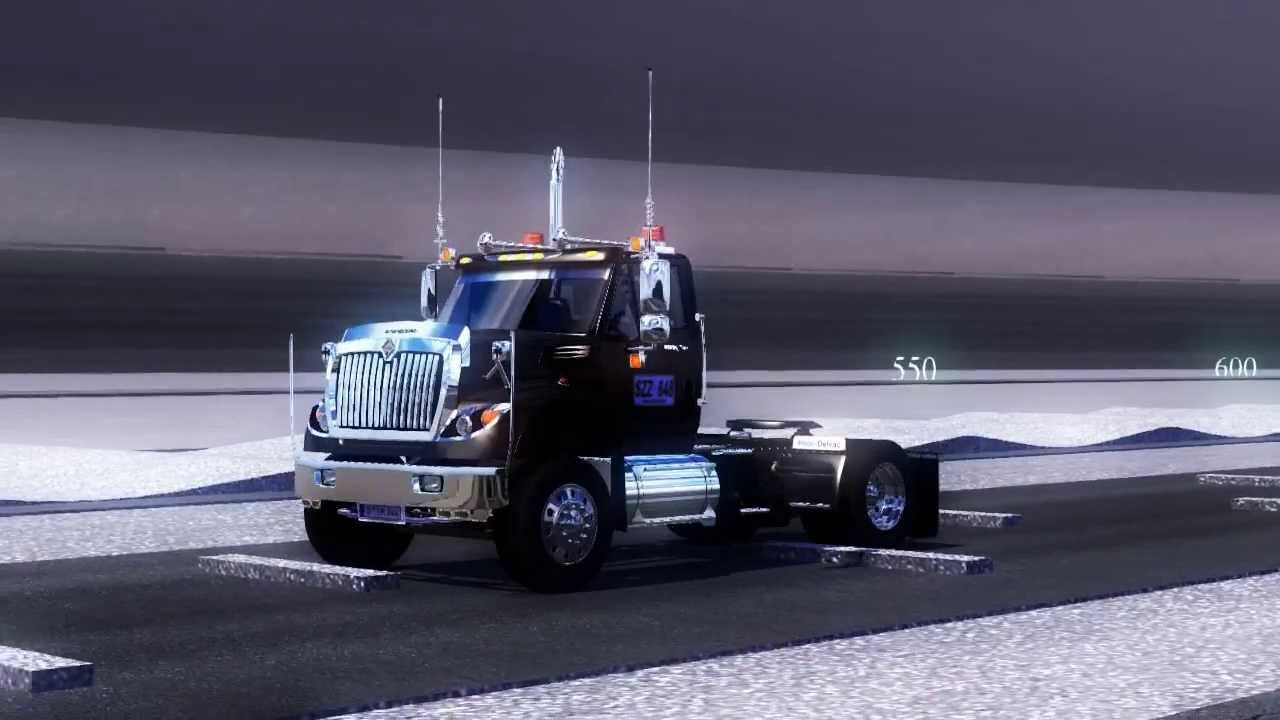 INTERNATIONAL WORKSTAR - Euro Truck Simulator 2 - Physics