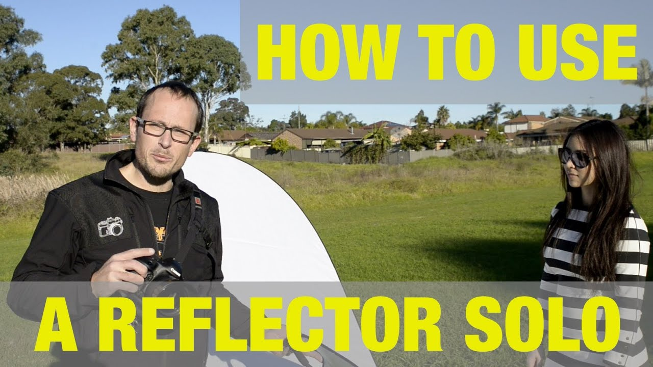 How to use a reflector with no assistant youtube how to use a reflector with no assistant aloadofball Gallery