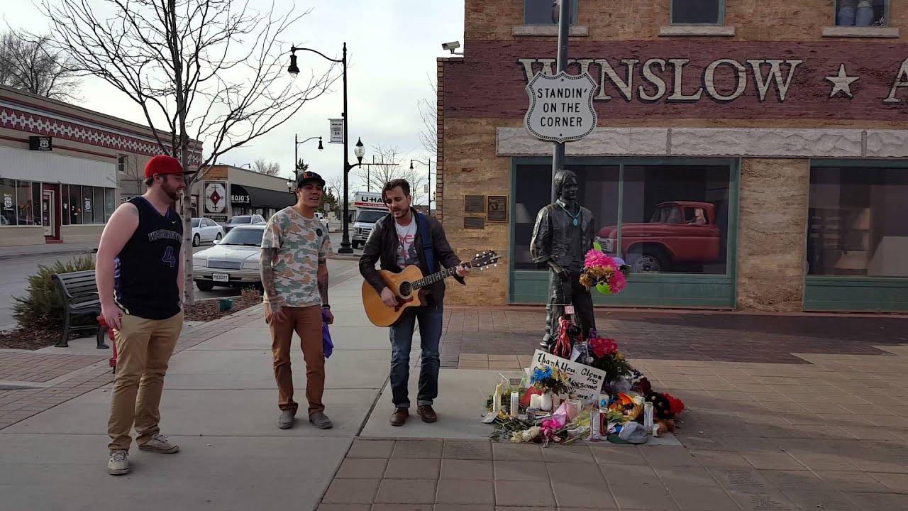 Ryan MacIntyre - Glenn Frey memorial - Winslow Ar - YouTube