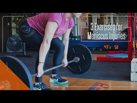 3 Exercises for Meniscus Injuries Huntington Beach CA
