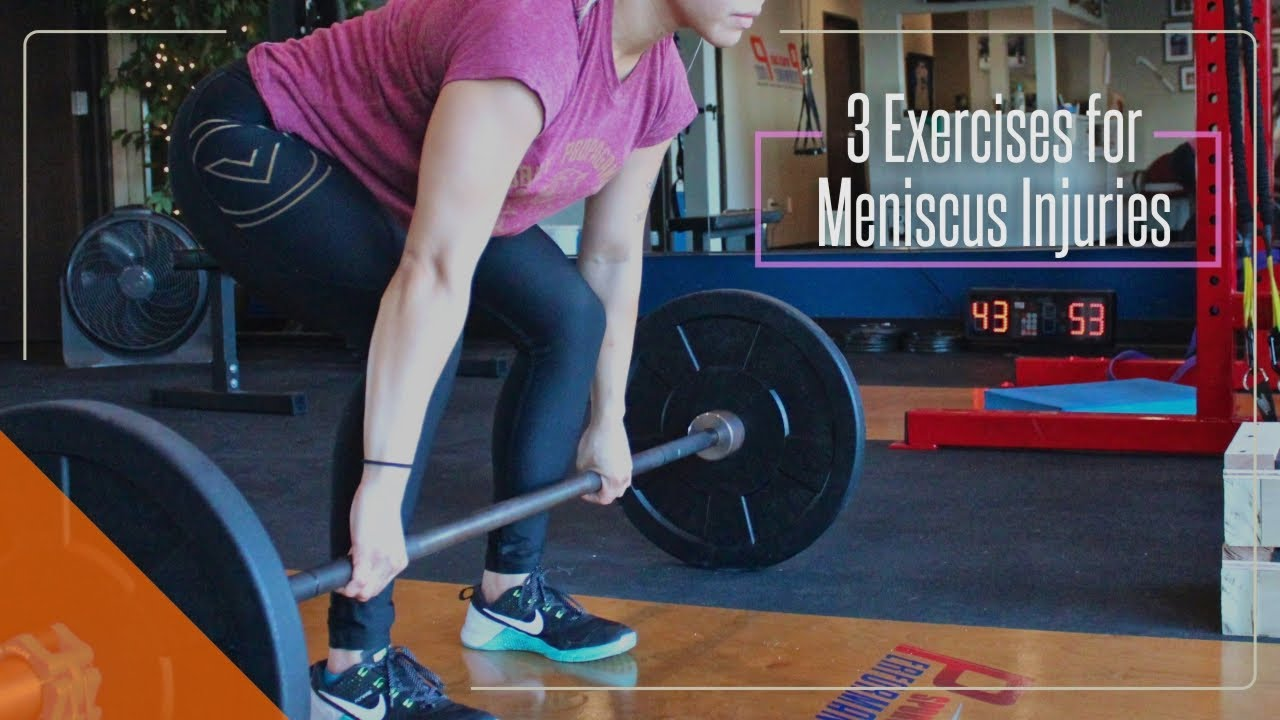 3 Exercises For Meniscus Injuries