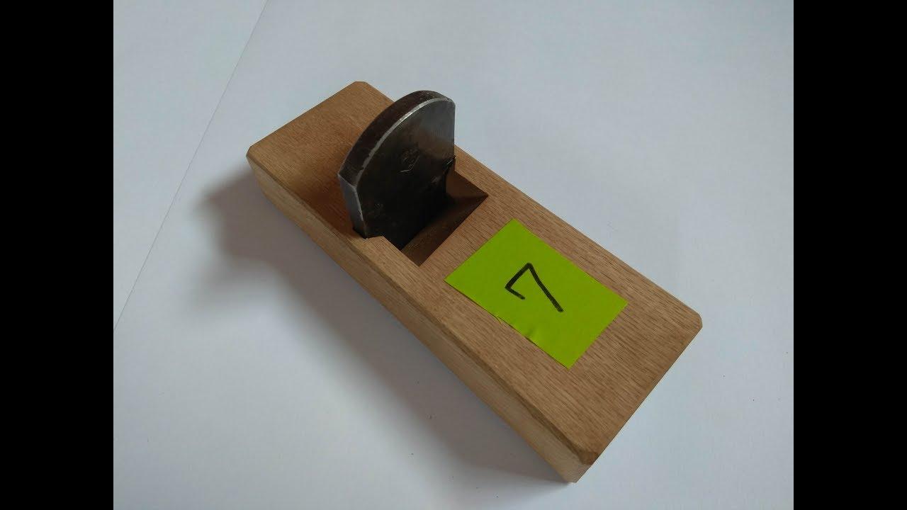 Чем усилить подошву деревянног рубанка