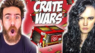ATHENA CHALLENGED ME TO CRATE WARS!