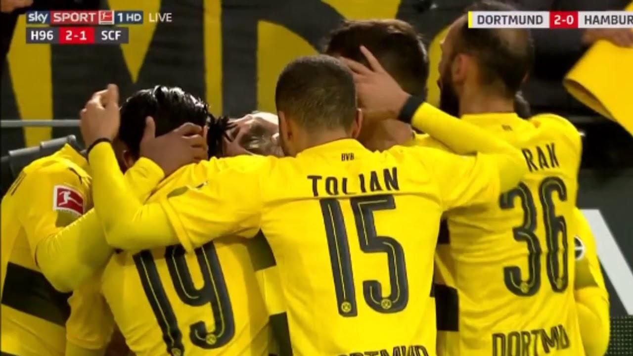 Dortmund Vs Hamburger