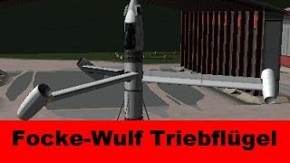 ksp focke wulf triebflgel prototype plane infernal robotics b9 aerospace