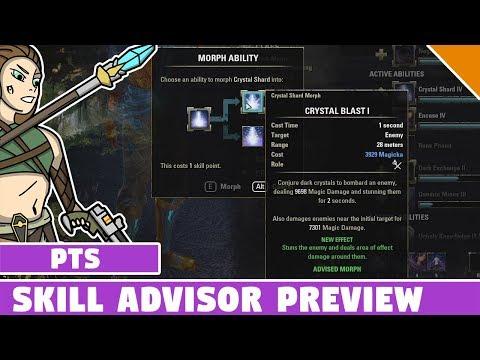 Skill Advisor Preview - ESO Update 17 Dragon Bones PTS (Test Server)
