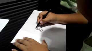 How to draw harley davidson by dimas