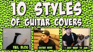 10 styles of guitar covers