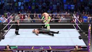 WWE 2K15:My Career Mode: Undertaker vs. Groovy  Man Ted (GMT):WrestleMania