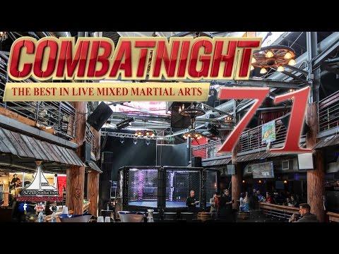 Combat Night 71 Thomas Manning vs Daniel DiLallo