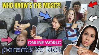 PARENTS Vs KIDS CHALLENGE!!!🤔 O2 & NSPCC ad