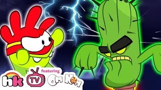 Om Nom Stories - Super Noms: Cactus Attack | Cut the Rope | Funny Cartoons for Children HooplaKidzTV