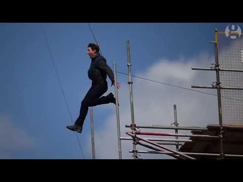 Tom Cruise injured in MI6