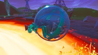 FIRST LOOK at the NEW BALLER VEHICLE! - Fortnite Hamster Ball Gameplay in a RANDOM SCRIM!