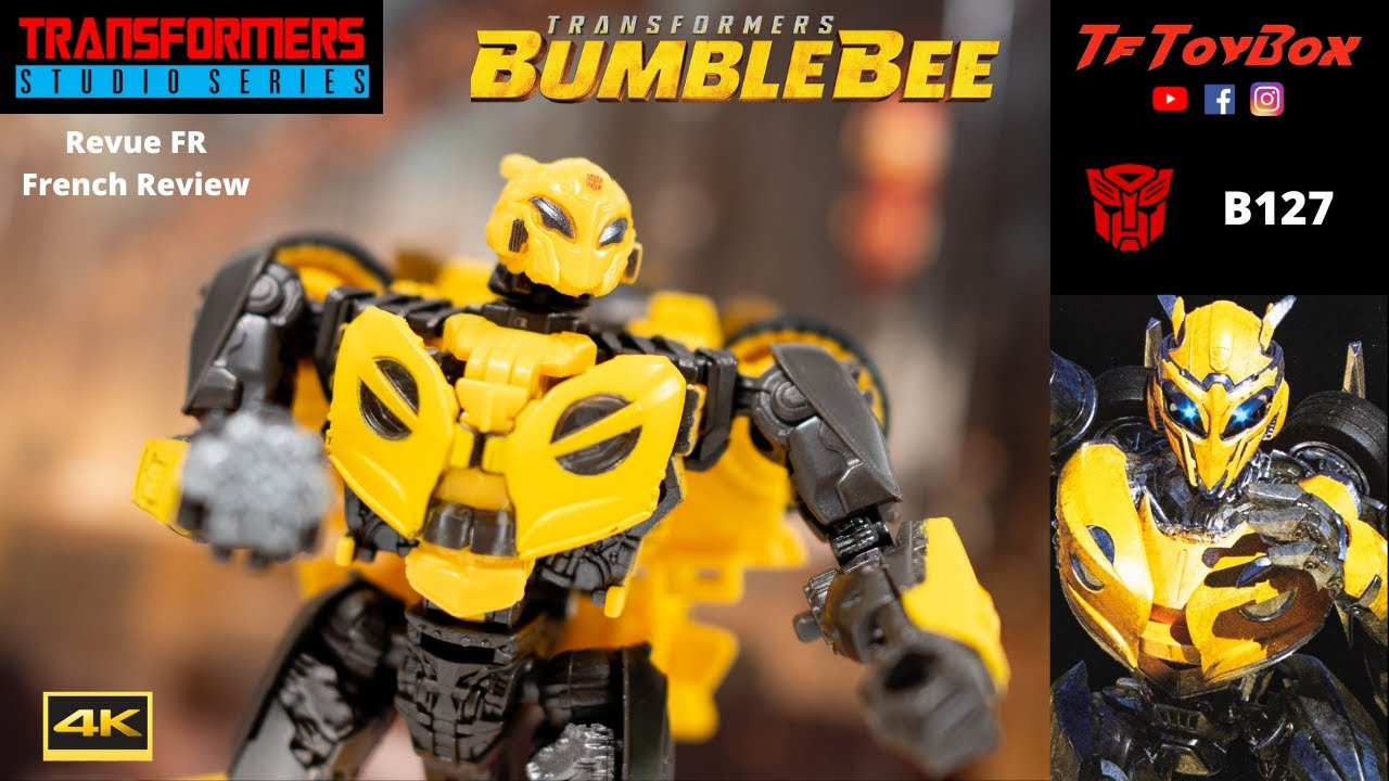 Transformers Studio Series B127 Cybertron Bumblebee Movie - TfToyBox Review