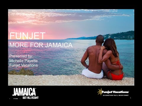 """Jamaica Tourist Board  Agents to """"Get All Right"""" Funjet Presentation 11/20/13"""