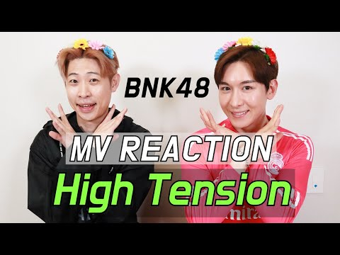 |ENG SUB| 한국인이 본 태국 걸그룹 BNK48 - High Tension MV REACTION [저세상텐션 리액션]