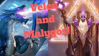 Velen and Malygos! Wombo Combo! [Hearthstone Game of the Day]