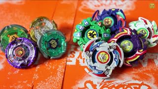 BATTLE: Bladebreakers VS Team GanGan Galaxy - Beyblade Metal Fight/Beyblade G-Revolution