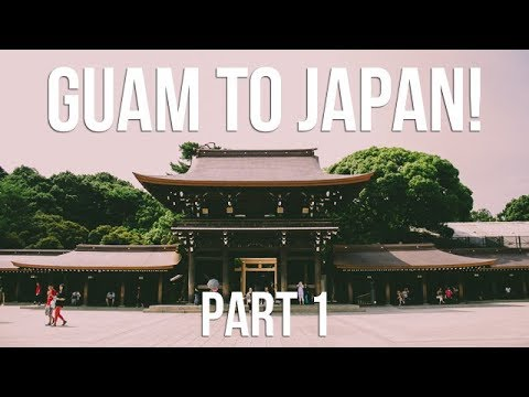 GUAM TO JAPAN PART 1: STEEZY JAPANESE ROOM!