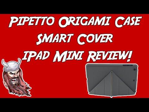 Pipetto Origami Case Smart Cover IPad Mini Review!