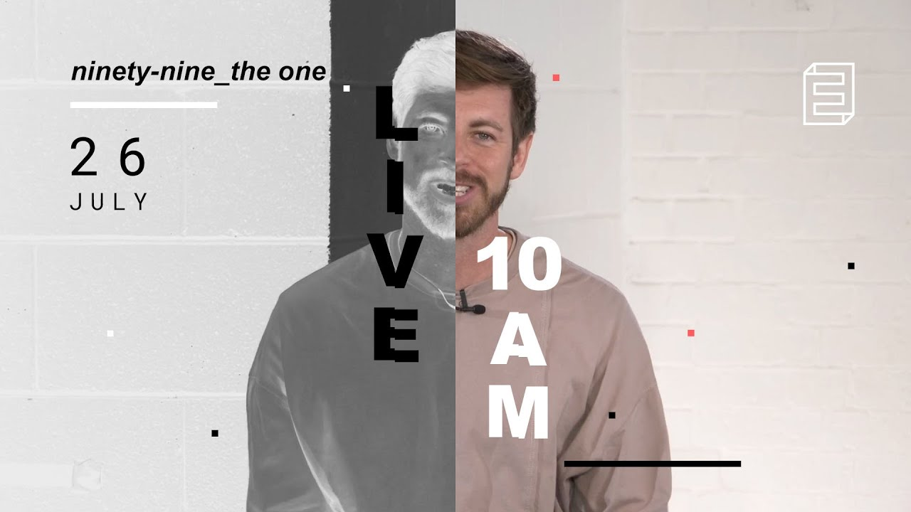 Emmanuel Live Online Service // 10am Sun 26 July 2020 Cover Image