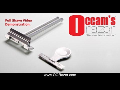 Occam's Razor In Action - Shaving