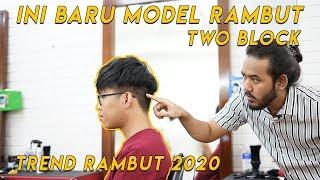 GAYA RAMBUT KPOP   KOREAN HAIRSTYLE   TWO BLOCK HAIRCUT