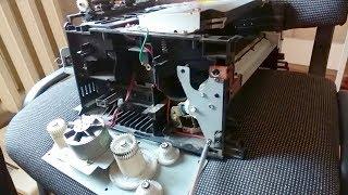 Ремонт принтера Samsung ML-1710 / печать со второй половины страницы