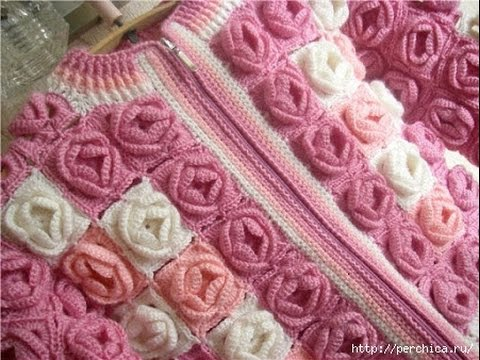 Crochet Patterns For Free Crochet Baby Sweater 1 Youtube