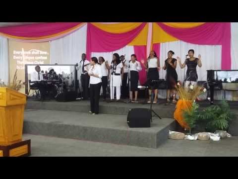 Benjamin Dube's Every knee shall bow, MCC worship team