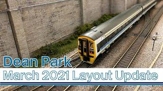 Model Railway | March 2021 Update & Tarmac Tutorial | Dean Park 273