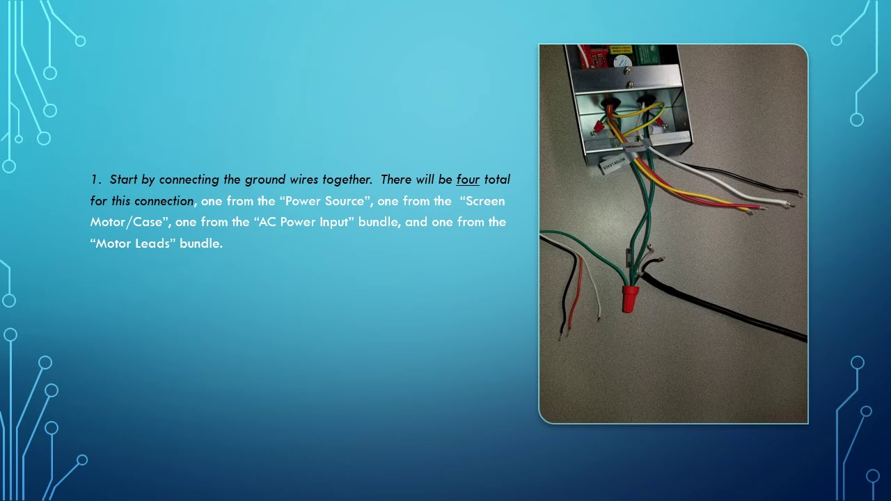Da Lite Motorized Screen Wiring Diagram from i.ytimg.com