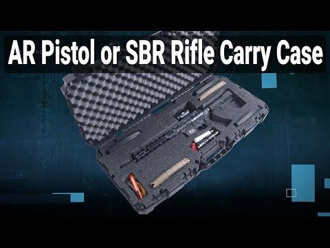 AR15 Pistol | SBR Carry Case - Video
