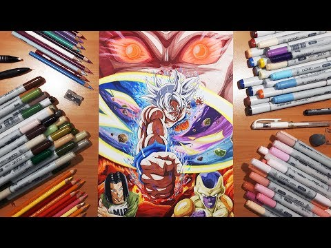 SPECIAL! - Drawing Dragon ball Super's FINALE! | GOKU, JIREN, FRIEZA and ANDROID 17!