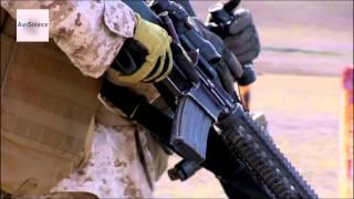 U.S. Marine Corps Range Fire Team Movement Exercises