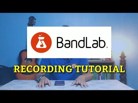 Bandlab - How To Bandlab Recording | Tutorial