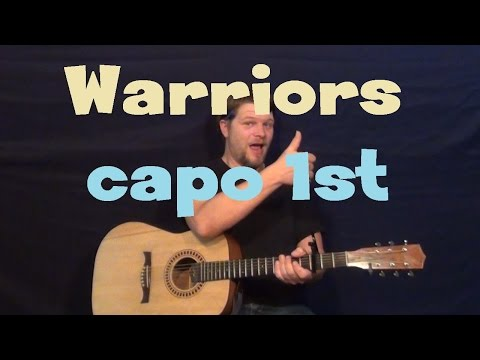 Warriors (Imagine Dragons) Easy Guitar Lesson How to Play Tutorial