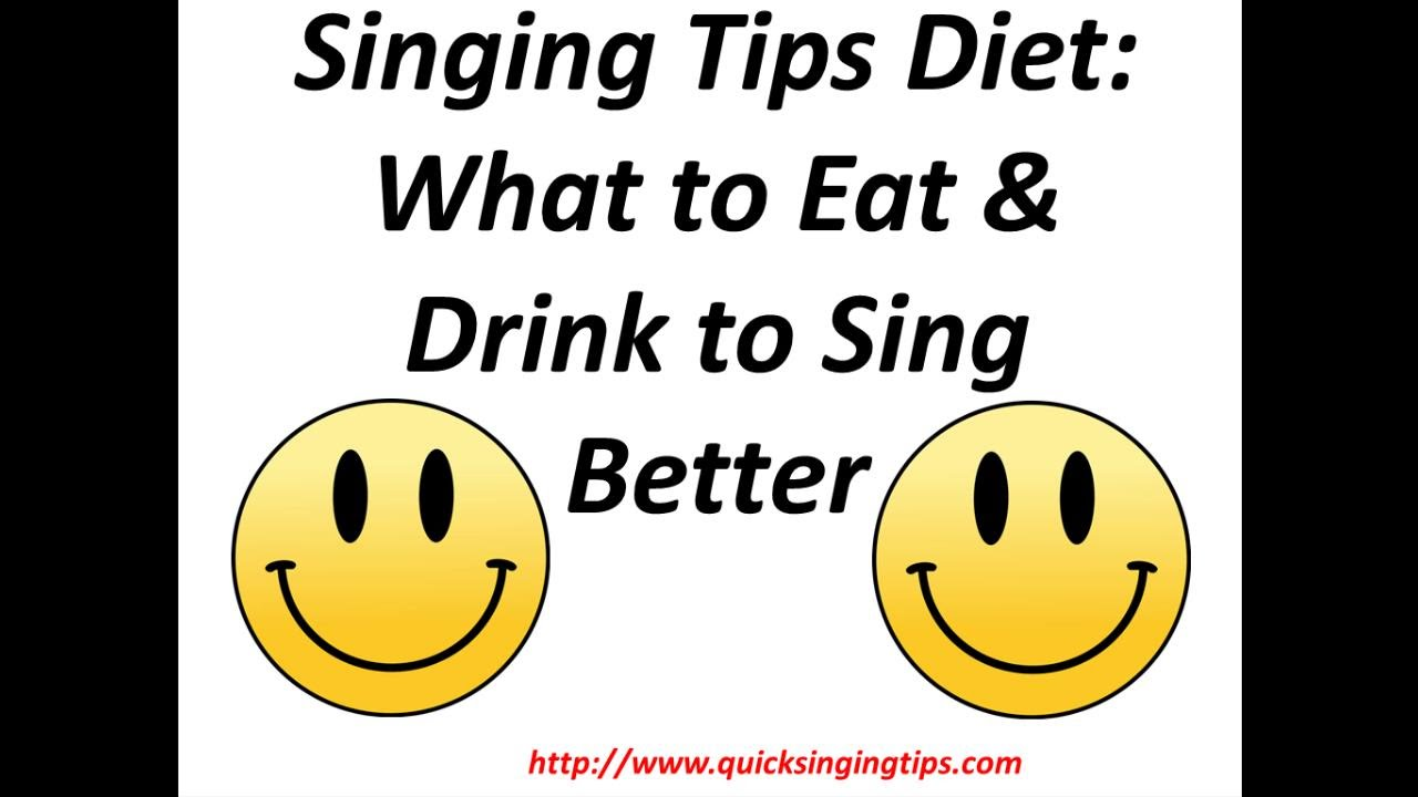 singing tips diet what to eat drink to sing better 101 youtube. Black Bedroom Furniture Sets. Home Design Ideas