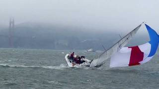 2011 ROLEX BIG BOAT SERIES-- IRC BOAT ROUND DOWN AND BROACH