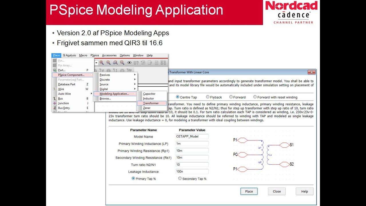 PSpice Modeling Apps version 2 0